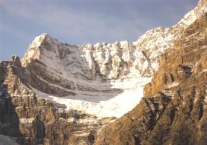 氷河の爪痕
