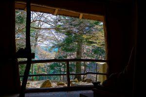 吉野西行庵から望む