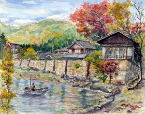 琵琶湖海津